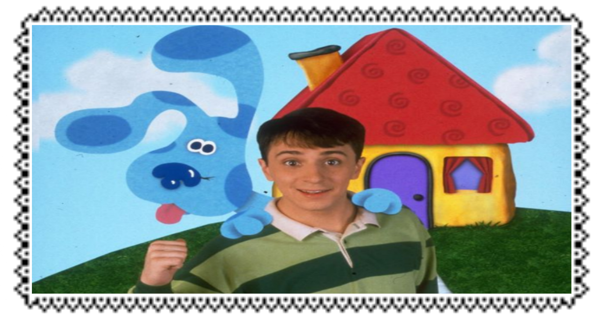 Blue's Clues Stamp