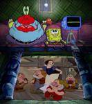 SpongeBob Characters Watching SWATSD (1937)