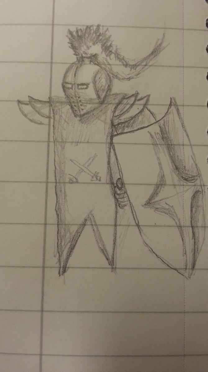 A knight sketch by Jonilo5