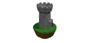 Tower on Floating Island
