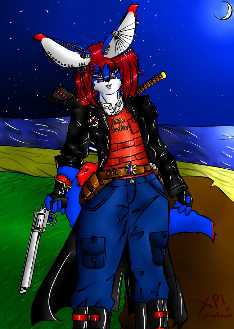 Gen. DayStar aka Me by WolfixFireHeart