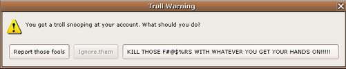 Troll Warning pop up by Axel-Letterman