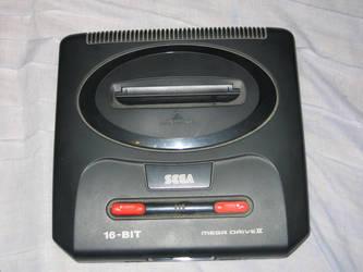 Sega Mega Drive 2 by Axel-Letterman