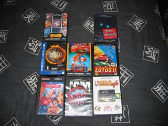 Sega Mega Drive Game Covers by Axel-Letterman
