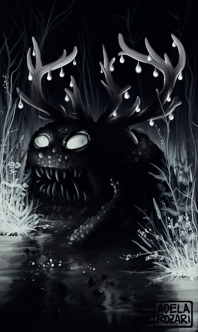 Swamp monster by Dragowlin