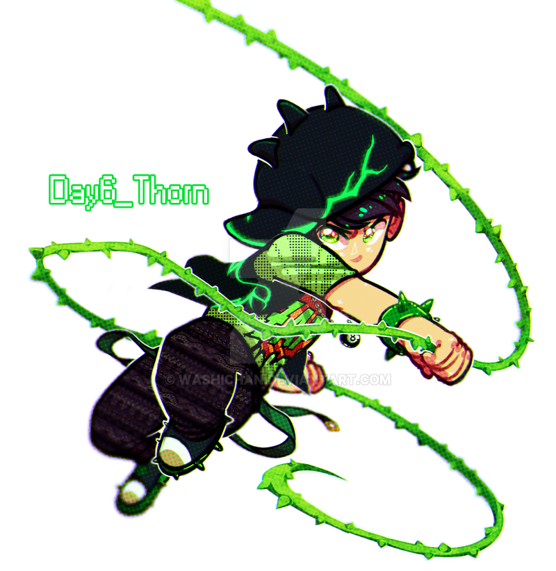 Bbb1weekchallenge_day6_Boboiboy Thorn by Washichan