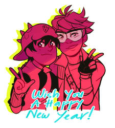 New Year to you from the BROTP by Washichan