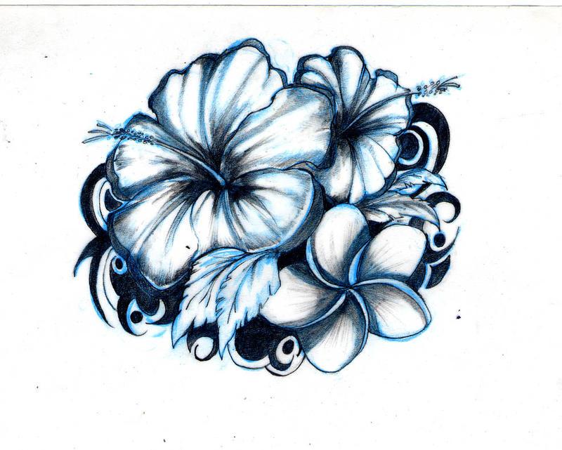 Flower tattoo by kidtrip98