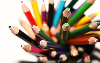 Colour Pencils by Loy-Pinheiro