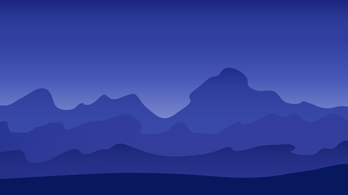 Simple Wallpaper Mountain Minimalistic - minimalistic_mountain_landscape_wallpaper_by_finnelele-da3cwap  Photograph_624334.png