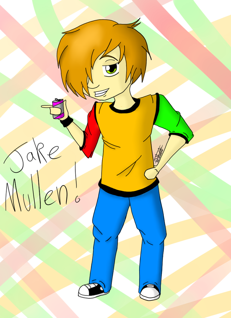 Jake Mullen 8D by singingaboutthesnow