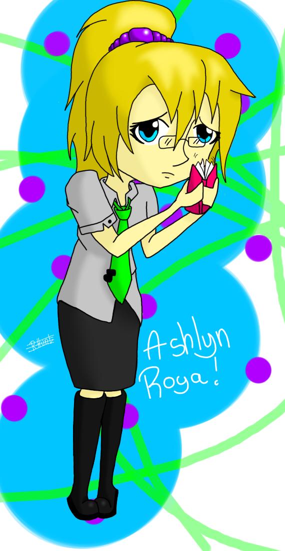 Ashlyn Roya by singingaboutthesnow