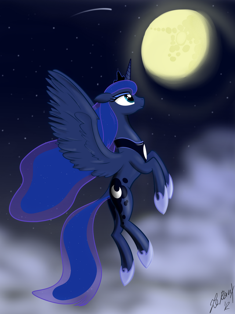 The night sky by LeRauxArt