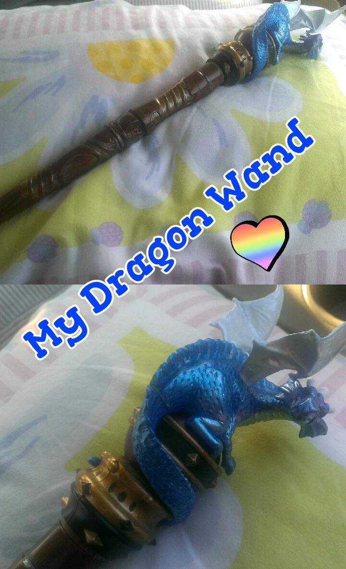 My Dragon Wand by Spirit-The-Artist