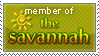 Savannah Stamp by JPLedoux