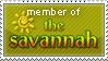 Savannah Stamp by JPLedoux
