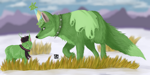 Animal Jam | Art Trade | Berrycloud