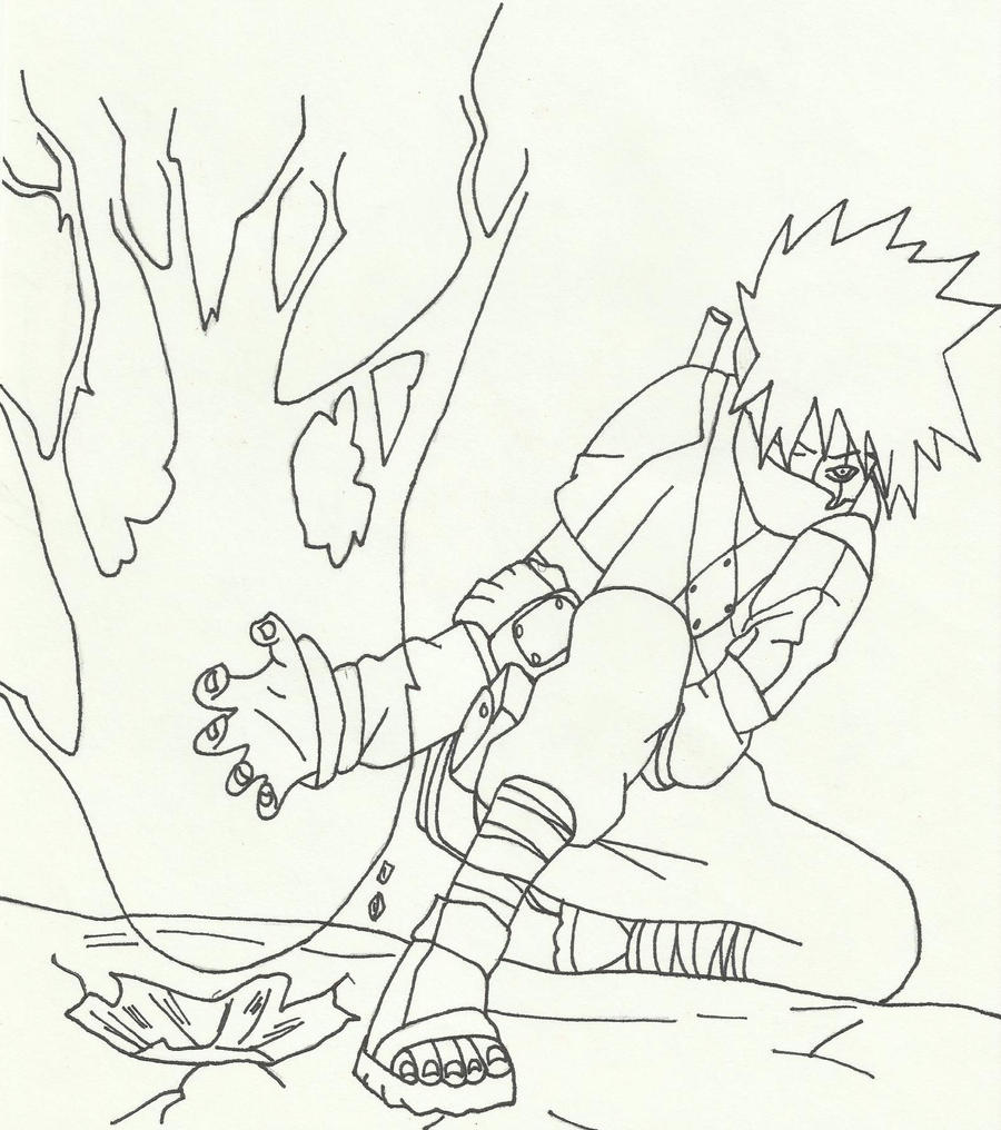 Kakashi Chidori by lenbeezy on DeviantArt