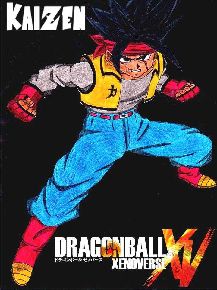 DragonBall XV 'Kaizen' Design 2 by lenbeezy