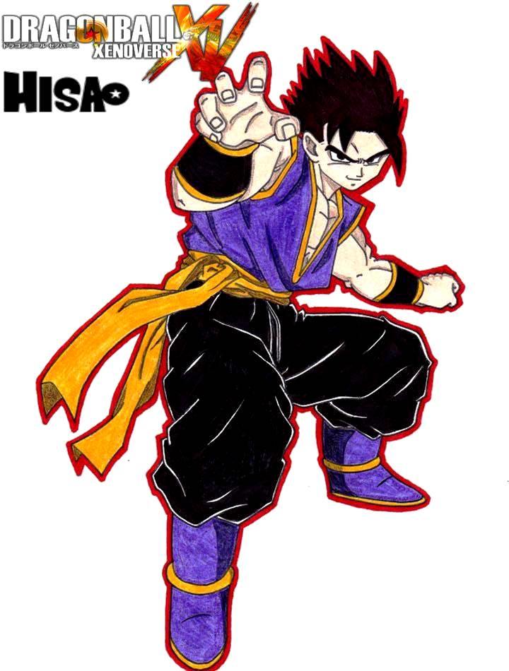 Dragon Ball Xenoverse 'Hisao' by lenbeezy