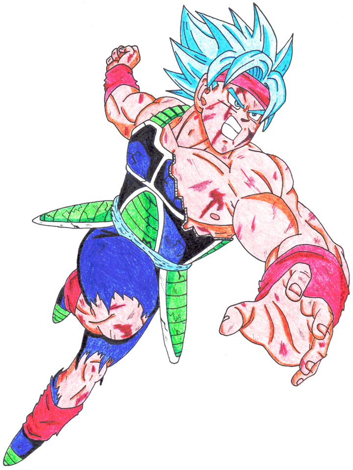 Super Saiya-jin God Bardock by lenbeezy