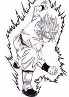SSGSS Goku 'Just Like Old Times' by lenbeezy