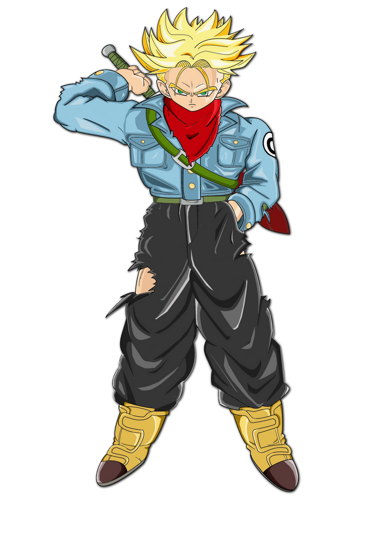 SSJ Future Trunks (Dragonball Super) by lenbeezy