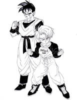 SSJ Future Trunks (Dragonball Super) by lenbeezy on DeviantArt
