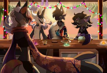 Sunset Bar [PROMPT]