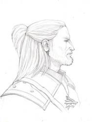 Geralt of Rivia by citreum