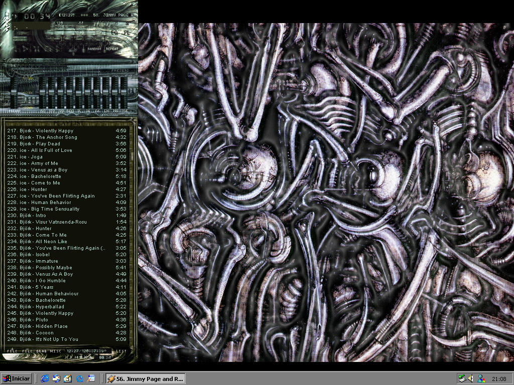 My H R GIGER Desktop by incubator on DeviantArt H.r. Giger Wallpaper
