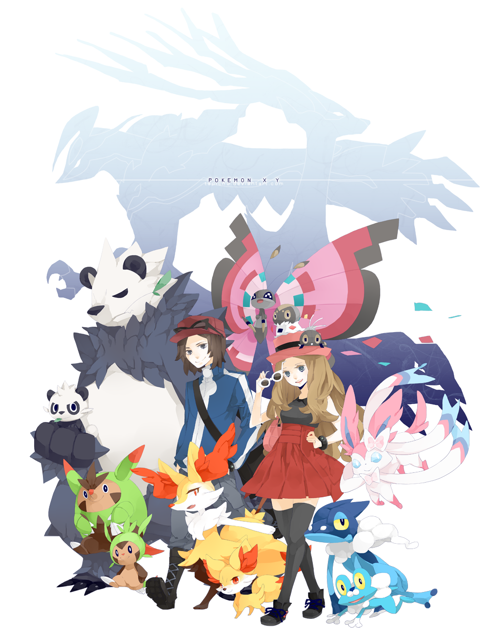 Pokemon XY by Tapichu