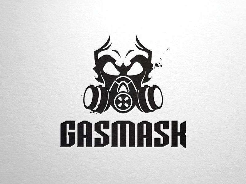 Gasmask-skull-logo-template by LiveAtTheBBQ on DeviantArt
