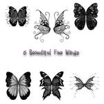 6 Fae Wing PS Brushes