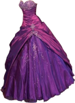 Purple Gown small