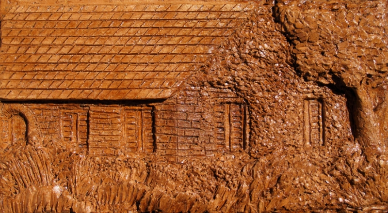 Landscape relief finished by konstantinz on deviantart