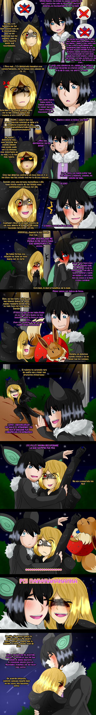 [AA2] Trick or Treat - Sidney + Damian by Koyukistyle