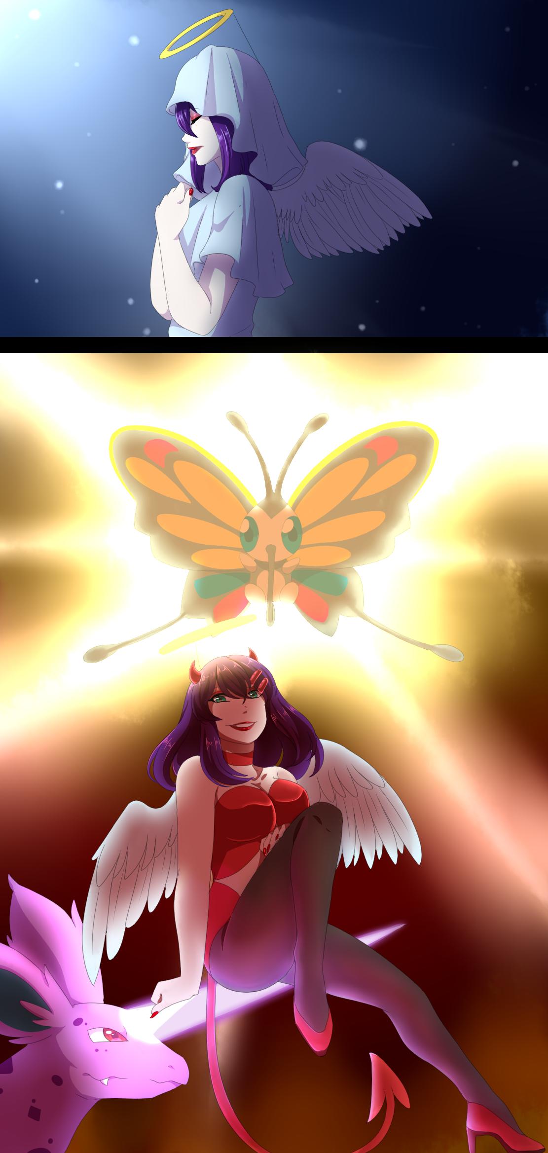 Aureolas Gigantes aa2] - angel contest - angel of the stagekoyukistyle on