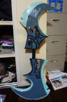 Phantom Assassin Cosplay Blade WIP by QTCosplay
