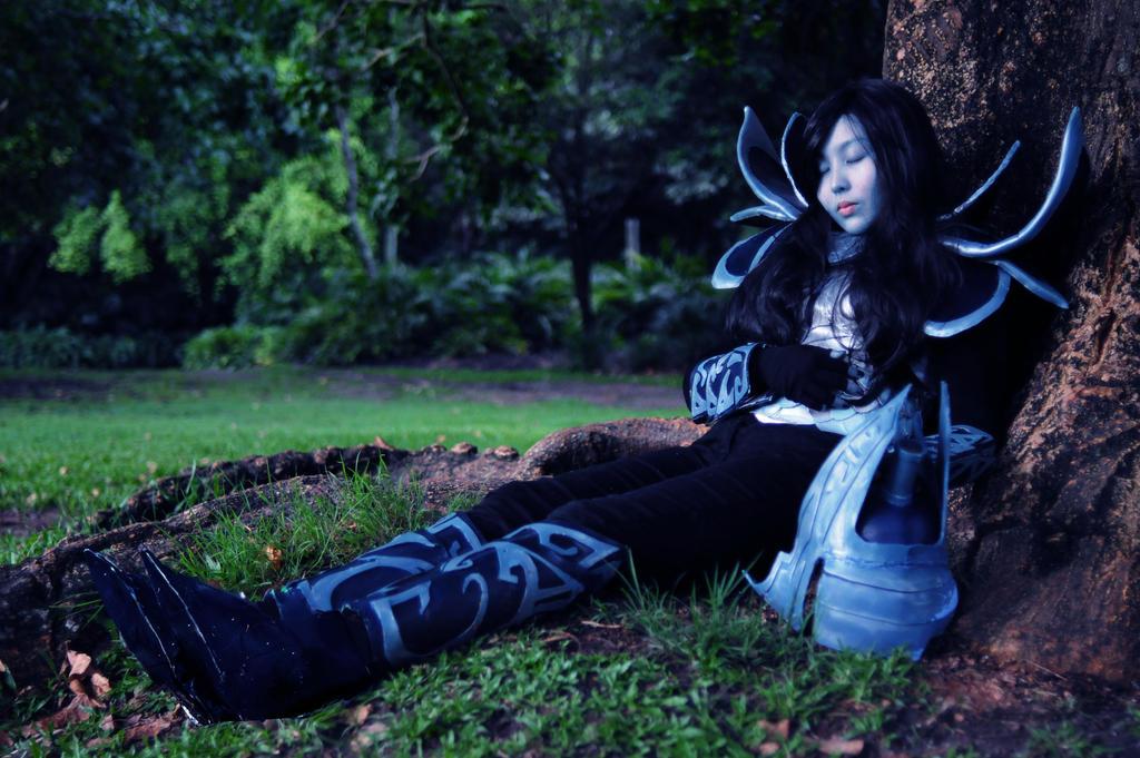 dota 2 phantom assassin cosplay sleep by qtcosplay on deviantart