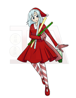 Holiday Typha Entry for TG Society by Typhoon-Manga
