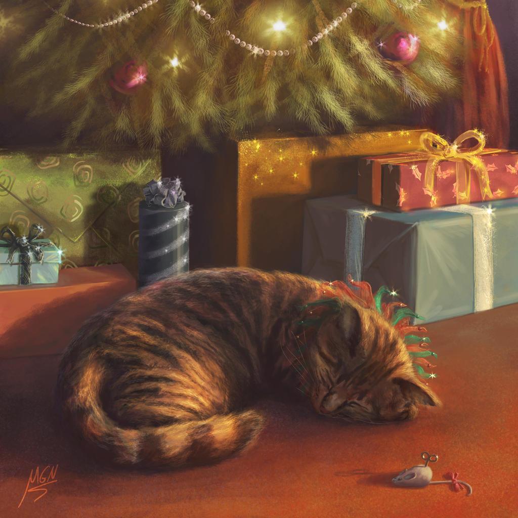 Santa's Little Helper by nancekievill