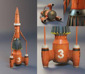 Thunderbird 3 (studio renders)