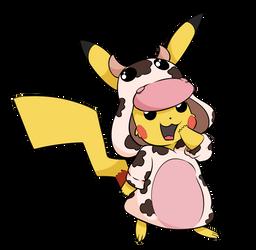 Moo Moo Pikachu