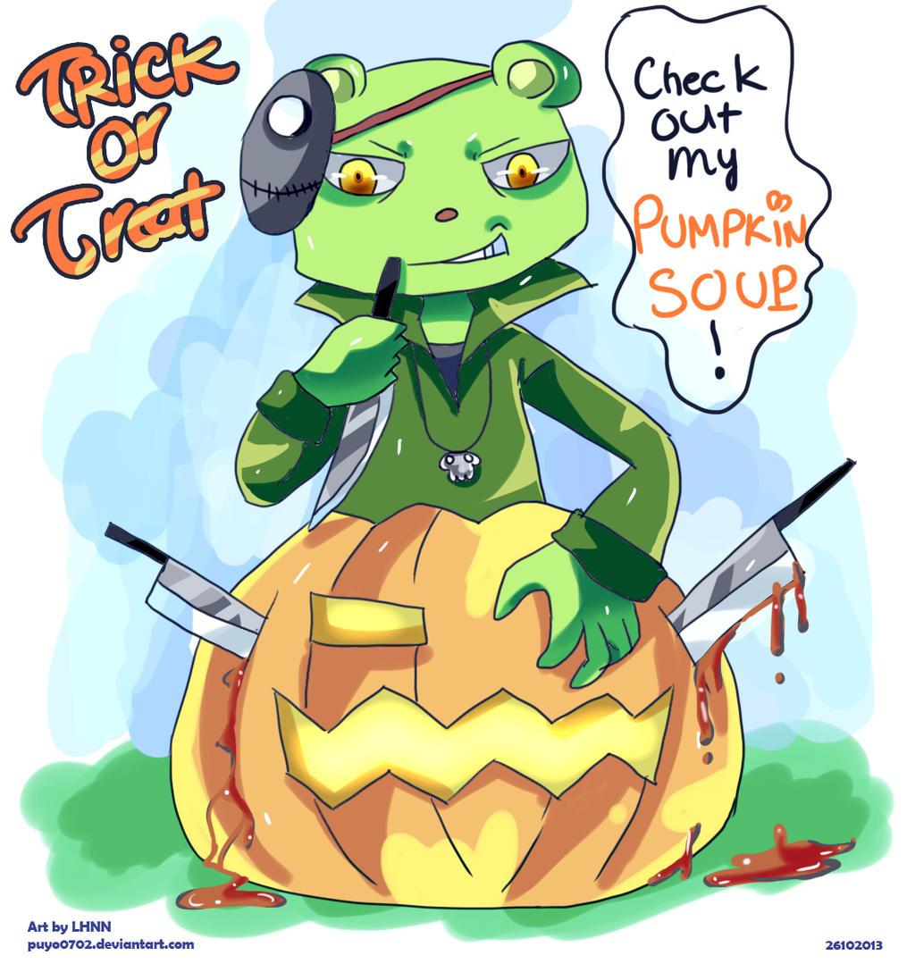 HTF: Happy Halloween by Puyo0702