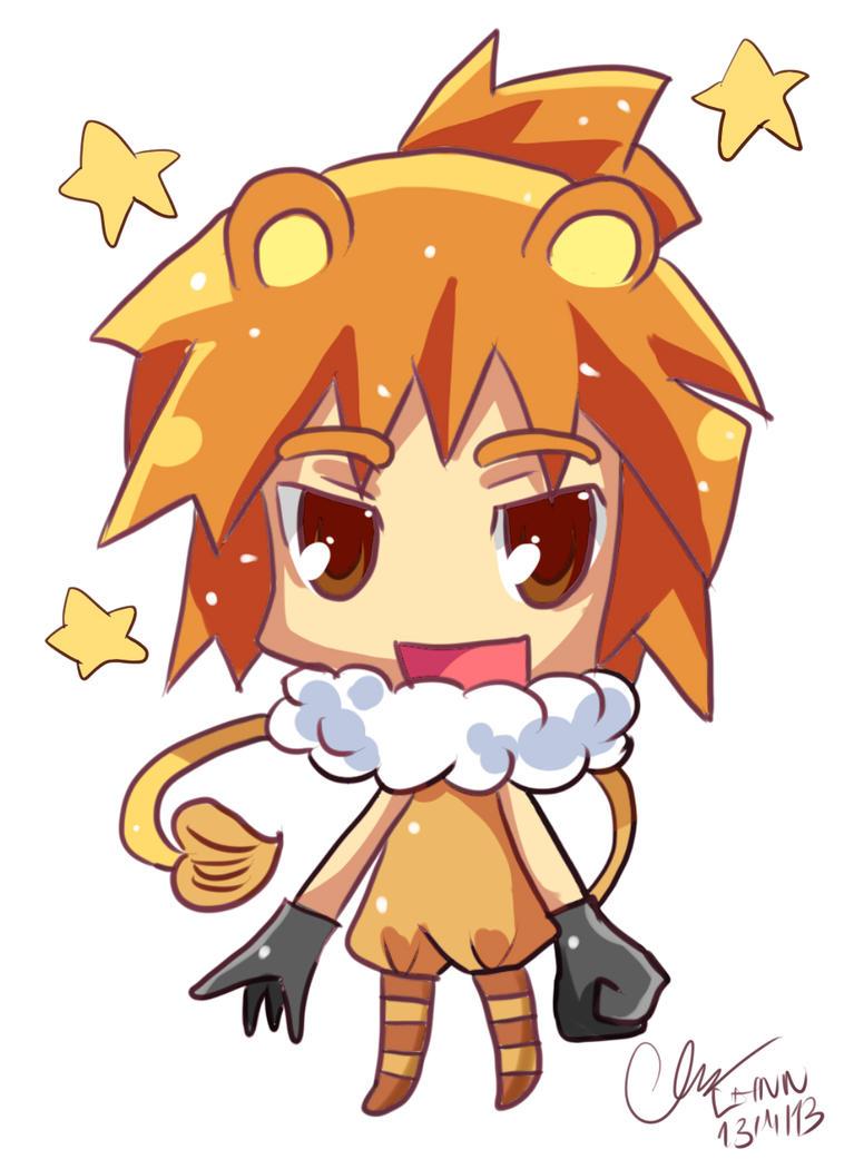 Anime Characters Leo Zodiac : Original leo zodiac by puyo on deviantart