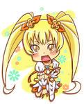 Heartcatch Precure: Cure Sunshine chibi