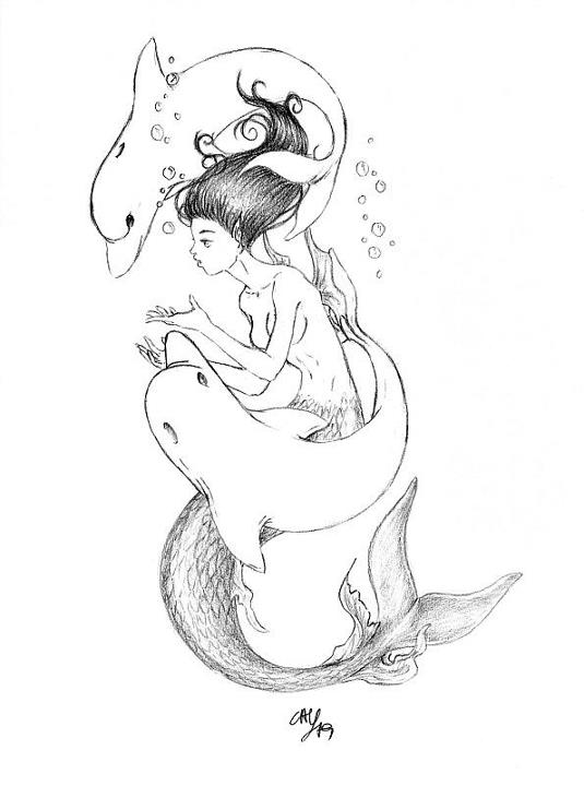 Image Result For Mermaid Coloring Book