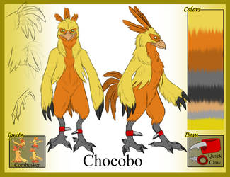 PCBC: Chocobo by Iron-Zing