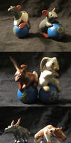Zodiac Animal Sculptures by Iron-Zing